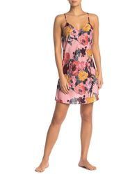 Room Service - V-neck Nightgown - Lyst