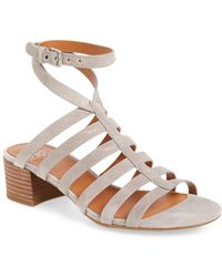 Sarto - Finesse Cage Sandal (women) - Lyst