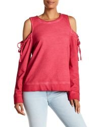 Sanctuary - Parkside Cold Shoulder Sweater - Lyst