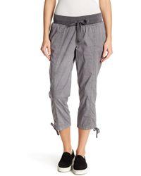 Jag Jeans - Kensie Poplin Cropped Pants - Lyst