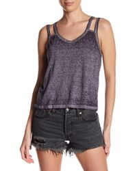 RVCA - Portrayal Strappy Tank - Lyst