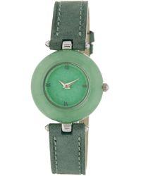 Peyote Bird Jade's Watch, 23mm - Green