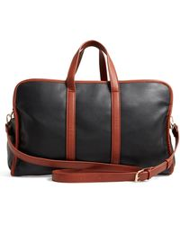 Sole Society - Doxin Faux Leather Duffel Bag - Lyst
