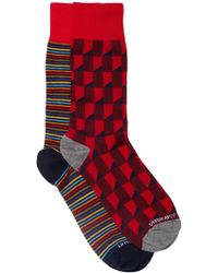 Unsimply Stitched - Printed Socks - Pack Of 2 - Lyst