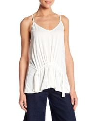 Lush - Front Drawstring Cami - Lyst