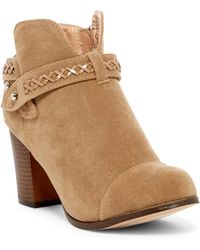 In Touch Footwear | Andrea Whipstiched Bootie | Lyst
