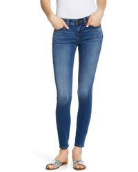 True Religion - Halle Mid Rise Super Skinny Jeans - Lyst