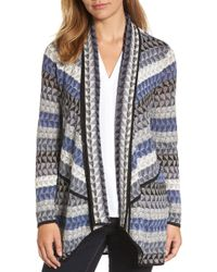NIC+ZOE - Triangle Bliss Cardigan (petite) - Lyst