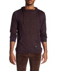 Ezekiel - Gavin Hooded Long Sleeve Knit Tee - Lyst