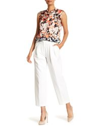 BOSS - Tomida Cropped Pants - Lyst