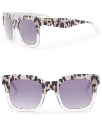 Guess - 50mm Square Sunglasses - Lyst