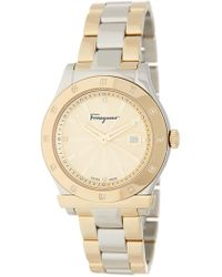 Ferragamo - Women's 1898 Diamond Bracelet Watch, 33mm - 0.06 Ctw - Lyst