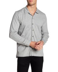 David Donahue - Knit Regular Fit Shirt - Lyst
