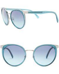 Versace - 54mm Round Sunglasses - Lyst