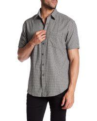 James Campbell - Roper Plaid Short Sleeve Regular Fit Shirt - Lyst