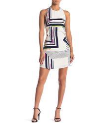 Sugarlips - Juno Geometric Dress - Lyst