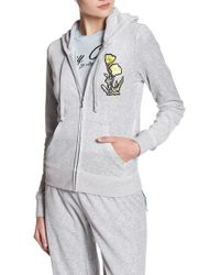 Juicy Couture - Pretty Things Velour Track Jacket - Lyst