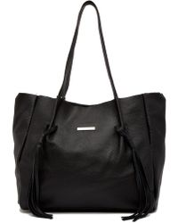 Luisa Vannini - Leather Shopper Bag - Lyst