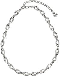 Uno De 50 - Cosmic Order Oval Link Necklace - Lyst
