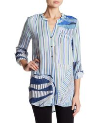 NIC+ZOE - Palm Lines Top - Lyst