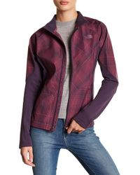The North Face - Isotherm Plaid Zip Up Jacket - Lyst