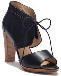 Armani - Lace-up Open Toe Sandal - Lyst