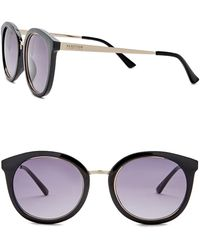 Kenneth Cole Reaction - 54mm Metal Round Injected Sunglasses - Lyst