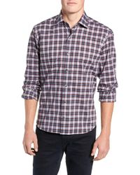 Culturata - Perfect Check Tailored Fit Sport Shirt - Lyst