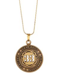 ALEX AND ANI - Numerology Number 33 Charm Adjustable Necklace - Lyst