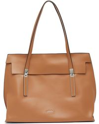 Lodis - Silicon Valley Lorraine Leather Rfid Satchel - Lyst