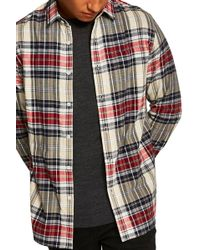 TOPMAN - Check Shirt - Lyst