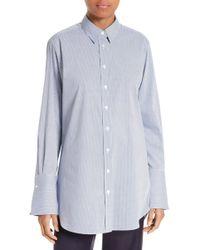 JOSEPH - Emile Pinstripe Shirt - Lyst