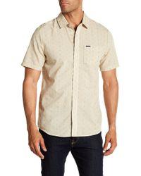 Volcom - Rollins Short Sleeve Modern Fit Print Woven Shirt - Lyst
