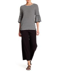 Max Studio - Cropped Wide Leg Pants - Lyst
