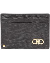Ferragamo - Leather Card Case - Lyst