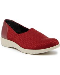 Munro | Cruise Woven Slip-on Sneaker - Multiple Widths Available | Lyst