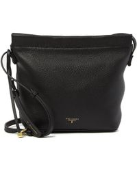 T Tahari - Leather Bucket Crossbody Bag - Lyst
