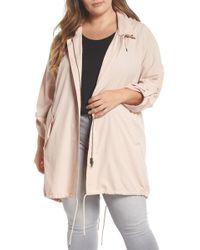 Caslon - Tumbled Anorak Jacket (plus Size) - Lyst