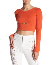 Free People Rising Sun Layer Top - Orange