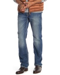 True Religion - Straight Flap Pocket Jeans - Lyst