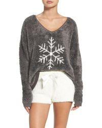 Make + Model - Fuzzy Lounge Shorts - Lyst