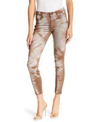Genetic Denim - Elle Tie-dye Print Skinny Jeans - Lyst