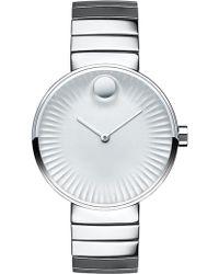 Movado - Women's Edge Swiss Quartz Bracelet Watch, 34mm - Lyst