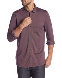 Robert Barakett - Braden Long Sleeve Sport Shirt - Lyst