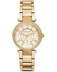 MICHAEL Michael Kors - Women's Gold-tone Bracelet Watch - Lyst