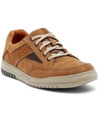Clarks - Unrhombus Go Leather Sneaker - Lyst