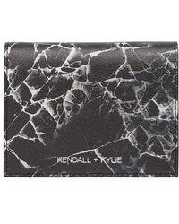 Kendall + Kylie - Cara Marble Wallet - Lyst