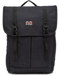 Ben Sherman | Heather Flapover Double Compartment Computer Backpack | Lyst