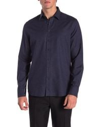 Tocco Toscano - Speckle Print Regular Fit Shirt - Lyst