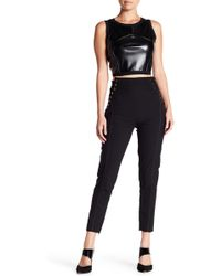 Gracia - Side Lace Up Stretch Pant - Lyst